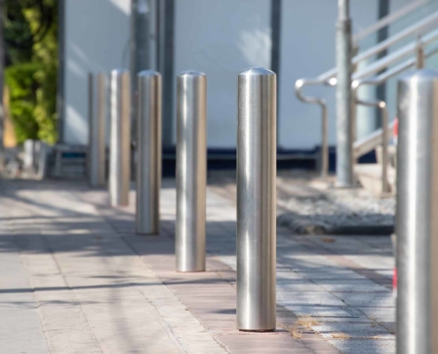 Trust Pittsburgh Pipe to Provide Removable Steel Bollards